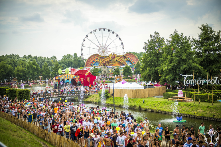 Tomorrowland 2014 v Belgii