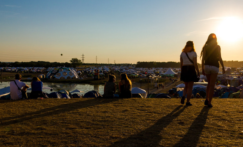 Roskilde Festival v Dánsku - Dream City